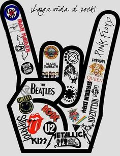Ac Dc, slipknot, led zeppelin, metallica, pink floyd, blink-182, black sabbath....can't stop listening to them
