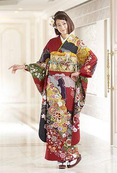 NO.1528 正絹 京友禅|成人式の振袖販売、振袖レンタルの京都きもの友禅