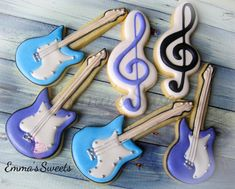 Music Cookies by Emma's Sweets | Cookie Connection