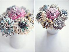 Les fleurs des papiers!