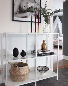 rustic home decor Ikea Cupboards, Ikea Vittsjo, Room Decor Bedroom, Home Living Room, Decoration, Home Goods, Modern Dans, Interior Design, Home Decor