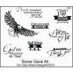 F469 - SOME GAVE ALL by Daily Bread Designs