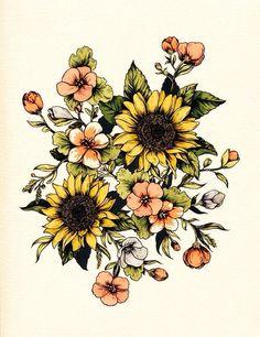 Flower ink inspa Upper Arm Tattoos, Vintage Flower Tattoo, Vintage Floral Tattoos, Vintage Tattoo Sleeve, Sleeve Tattoos, Body Art Tattoos, Owl Tattoos, Tatoos, Traditionelles Tattoo