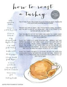 first time hosting Thanksgiving? Here's a how-to on roasting the perfect turkey.  Find a million more tid bits in our Thanksgiving E-Guide http://www.stylemepretty.com/magazine/2012-thanksgiving/