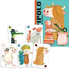 Djeco - Pipolo card game