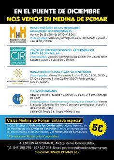 Del 6 al 9 de Diciembre 2013. Medina de Pomar
