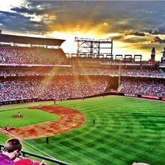 Sunset at the Ted!