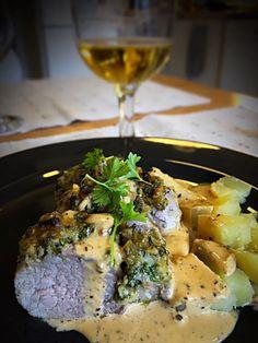 Kuorrutettu Porsaan sisäfile uunissa ⋆ Bouillabaissea Ja Kalasoppaa Steaks, Meat, Food, Minute Steaks, Essen, Steak, Yemek, Meals