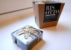 Loving the Nicholas Vahe's risotto package design!