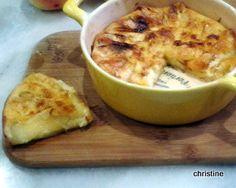 Clafoutis pomme-maroilles - le blog pause-nature