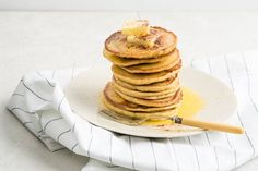 My low carb pancakes are made with almond flour, grass-fed cream cheese and eggs. Watching your carbs? Try these delicious and nutritious pancakes!