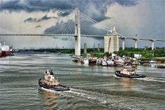 Savannah Harbor   Photography by Suzan