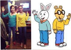 Arthur and Buster Halloween  sc 1 st  Pinterest & Arthur and Buster Costumes | Pinterest | Costumes Halloween ...