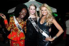 Salsa Dancing at Miss Universe 2014