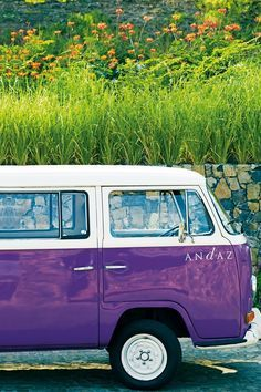 HIGH END RESTAURANTS AND HOTELS   VW camper van to take you surfing in Costa Rica, from the Andaz Hotel   www.bocadolobo.com
