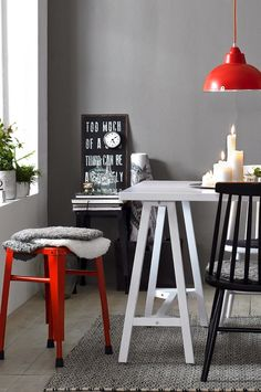 Blog de decoração Perfeita Ordem: Cinza nas paredes ... Use sem medo