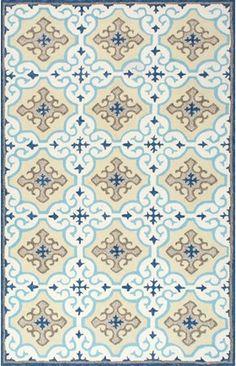 Hacienda AIR26 Winter Snowflake Indoor/Outdoor Rug