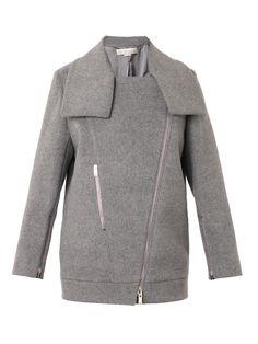 Fernanda wool biker jacket | Stella McCartney | MATCHESFASHION...