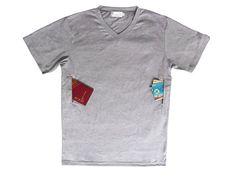 Amazon.com: Pick-pocket Proof T-shirt with Secret Pocket (V-neck) (Large, Black): Clothing