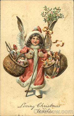 §§§ : christmas angel : ca.1900
