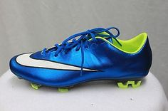 official photos 4c416 83157 Nike Mercurial Veloce II FG Women s Soccer Cleats Outdoor Blue MSRP  130 NEW
