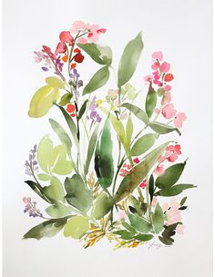 Spring Flora in Foliage — Yao Cheng Design
