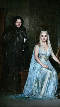 Daenerys Targaryen and Jon Snow   - A song of Ice and Fire.. these two are going to take Westeros by storm...