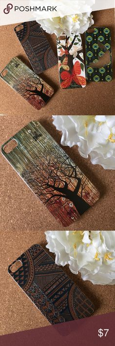 💥IPhone 5/5s earthy with Bling case💥 Choose one from 4 earthy print iPhone 5/5s cases.  All have bling studs that make them so girly. Play*Bling Accessories Phone Cases