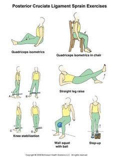 Lots of pictures of PT exercises