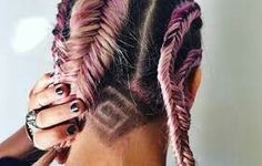 The New Hair Trend: Secret Undercut Hair Tattoos Undercut Tattoos, Undercut Hairstyles, Cool Hairstyles, Shaved Undercut, Shaved Nape, Haare Tattoo Designs, Curly Hair Styles, Natural Hair Styles, Undercut Designs
