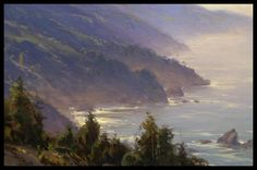Big Sur by Jesse Powell, oil, 16 x 24 inches