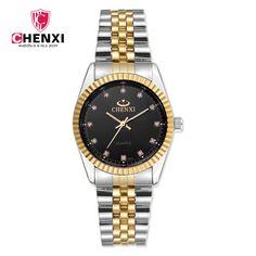 CHENXI Mens Watches Top Brand Luxury Fashion Business Quartz Watch Men Full Steel Waterproof Clock Hodinky Relogio Masculino #Affiliate