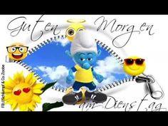 Guten Morgen am Dienstag ❤ Schlumpf Videos Zoobe Schlümpfe Animation - YouTube