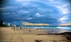 Thunderstorm forming over southern Gold Coast yesterday afternoon #thunderstorm #forming #southern #goldcoast #rainbowbay #coolangatta #snapperrocks #dark #force #nature #discovergoldcoast #discoverqueensland #discoveraustralia #visitgoldcoast #visitaustralia #landscapephotography #landscape #photography #canon #canon_official #goldcoastbulletin by jac_martini