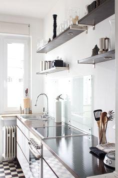 Repisas en la cocina. Designed for Life.