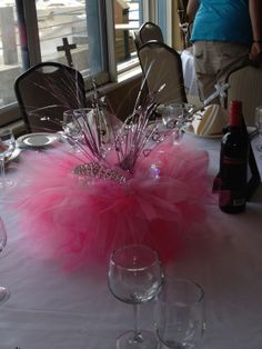 Charming Another View Of My Tutu Centerpieces
