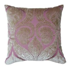 Silk Velvet Pillow in Lavender and Violet from the Josey Miller (event at Joss & Main!)