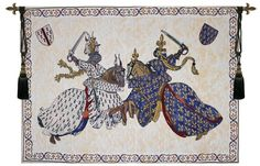 Tournament of Knights Roi Rene Tapestry