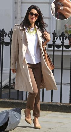 Amal Alamuddin's Impeccable Style - George Clooney's Fiance