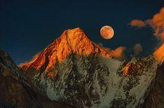 Gasherbrum IV in Pakistan ( Image by:  TARIQ HAMEED SULEMANI )