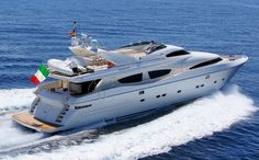 30m ZAMBEZI Charter Yacht Offers 10% Discount in Italy