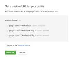 To get a custom URL, your account needs to be in good standing and meet a few other requirements.
