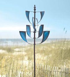 Sapphire Metal Wind Spinner