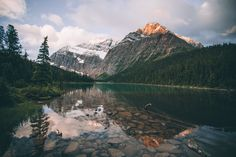 Sunkissed Edith Cavell by Johannes Hoehn - Photo 118412241 - 500px