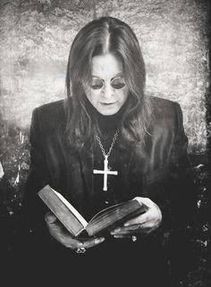 "Ozzy Osbourne (Black Sabbath)  Bruce says, ""I wonder if Ozzy has a favorite verse from Old or New Testament. Lord knows he has God-given talent but has been a tool for the dark side. At this point, I'm not sure if he can even read."""