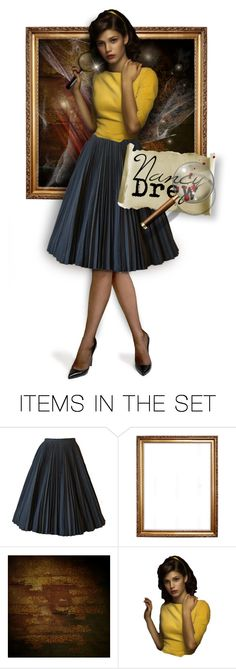 """""""2 Members Needed -- Team Nancy Drew!"""" by faylane ❤ liked on Polyvore featuring art"""