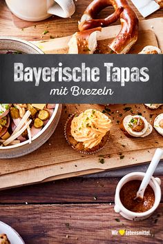 Bayerische Tapas Oktoberfest celebration and serve you and your guests a selection of fine Bavarian tapas: here is all sorts of hearty! Tapas Recipes, Fall Recipes, New Recipes, Healthy Recipes, Spicy Appetizers, Appetizers For Party, Appetizer Recipes, Snacks Für Party, Easy Snacks