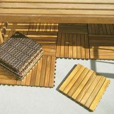 I'm learning all about VIFAH Deck Tiles 8 Slat Diagonal 10 Tiles Box Premium Plantation Teak at @Influenster!