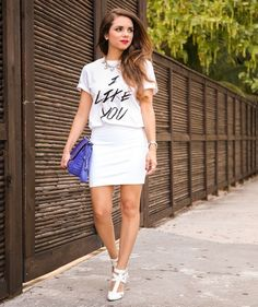 Fashion-with-Style.com | Fashion Bloggers: IT'S ALL ABOUT WHITE  #blogger #fashion #white #idol #trend #summer #muse #Inspiration #style #itgirl #fashionista