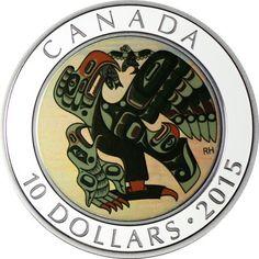 10 Dollar Silber Kunst der Ureinwohner: Mutter füttert Baby PP